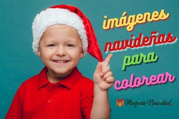 imagenes gratis de navidad para colorear